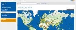 Карта Всемирного Наследия Юнеско